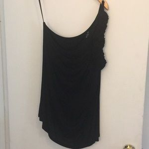 NWOT One-Shoulder Shirt